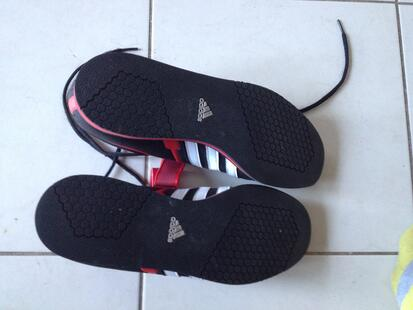 Adidas weightlifting shoe soles