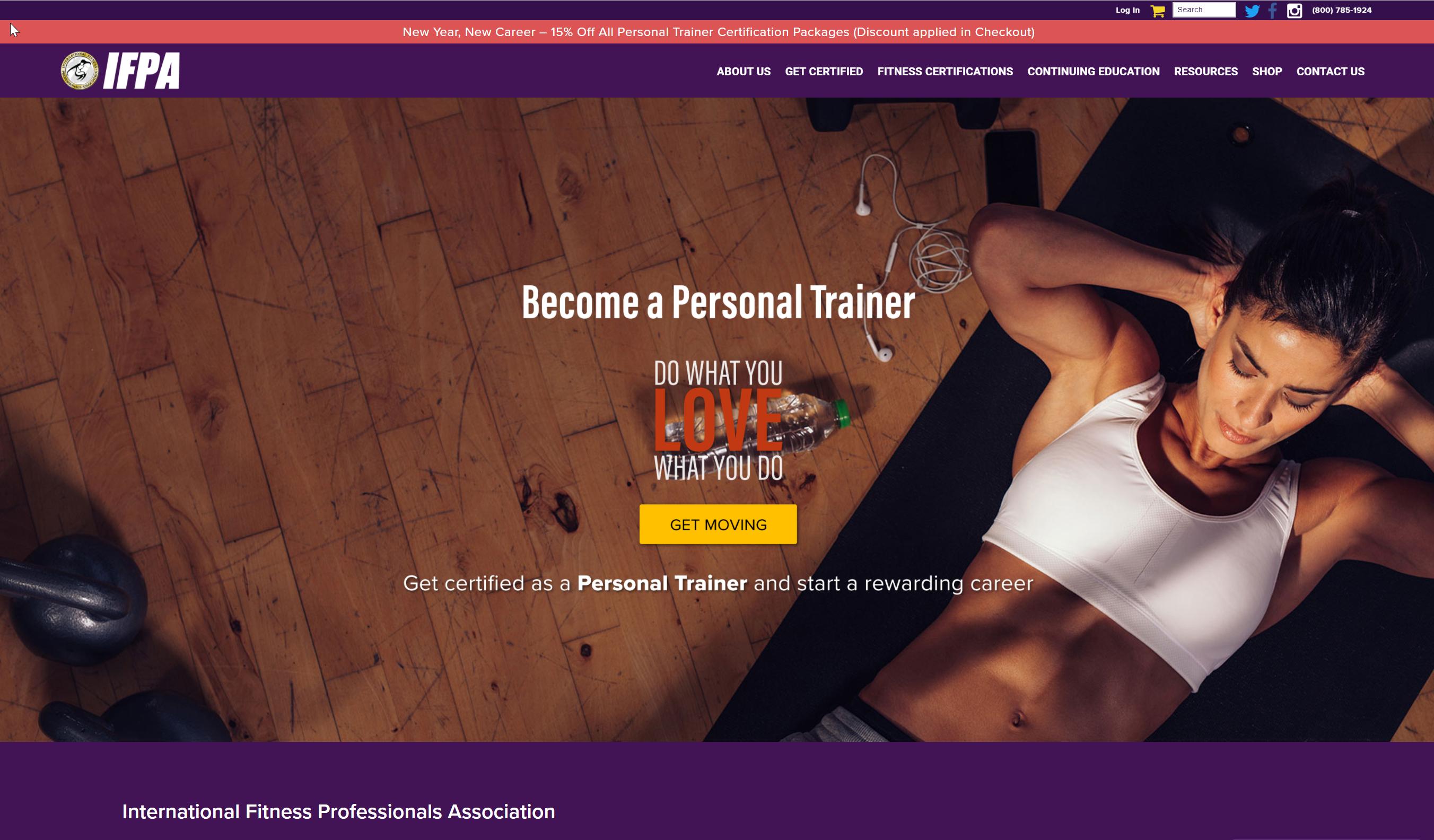 IFPA website