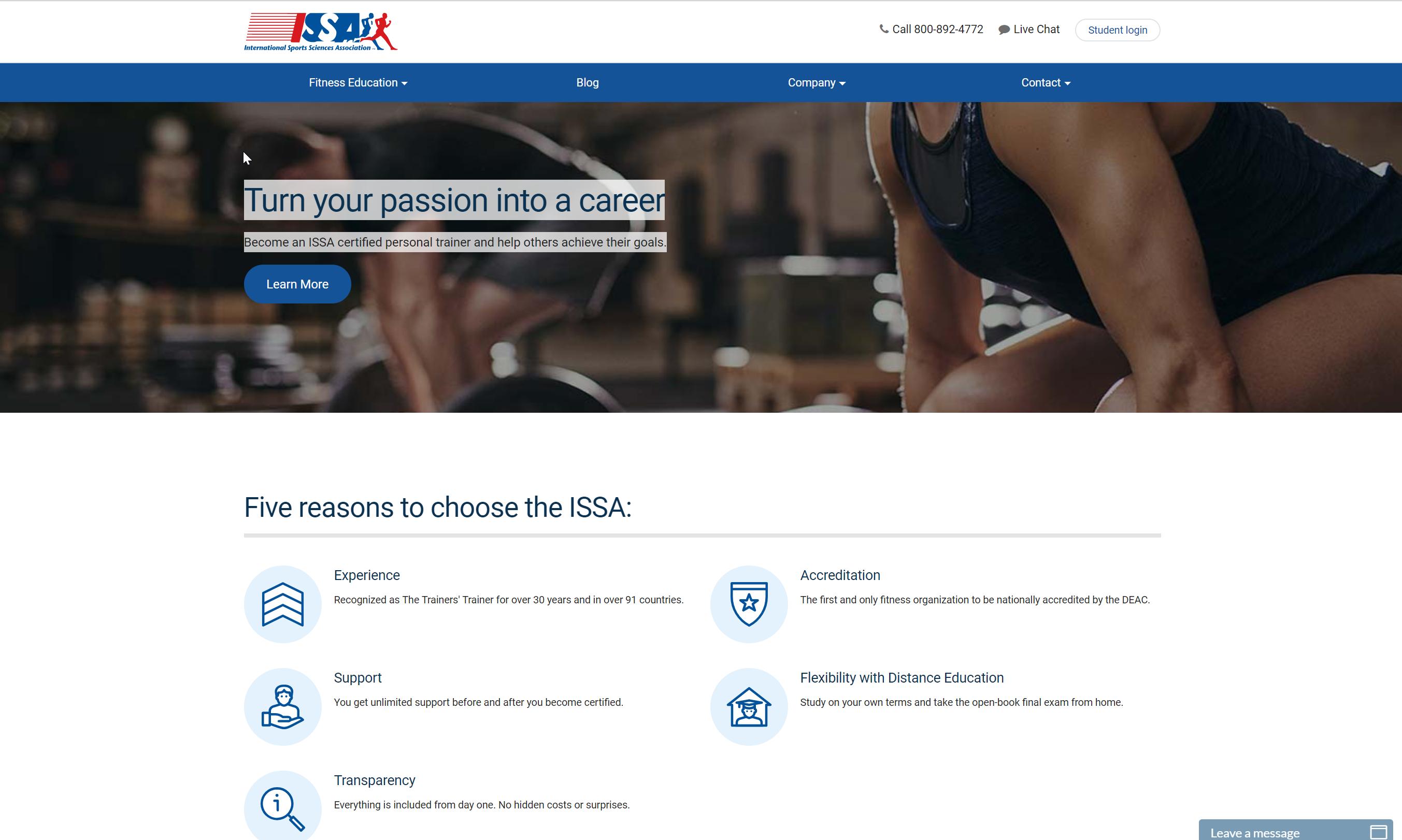 ISSA Website