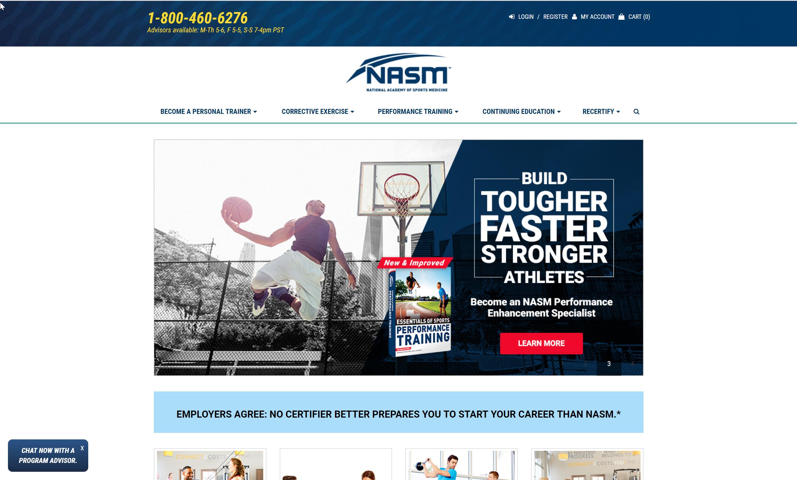 NASM Website