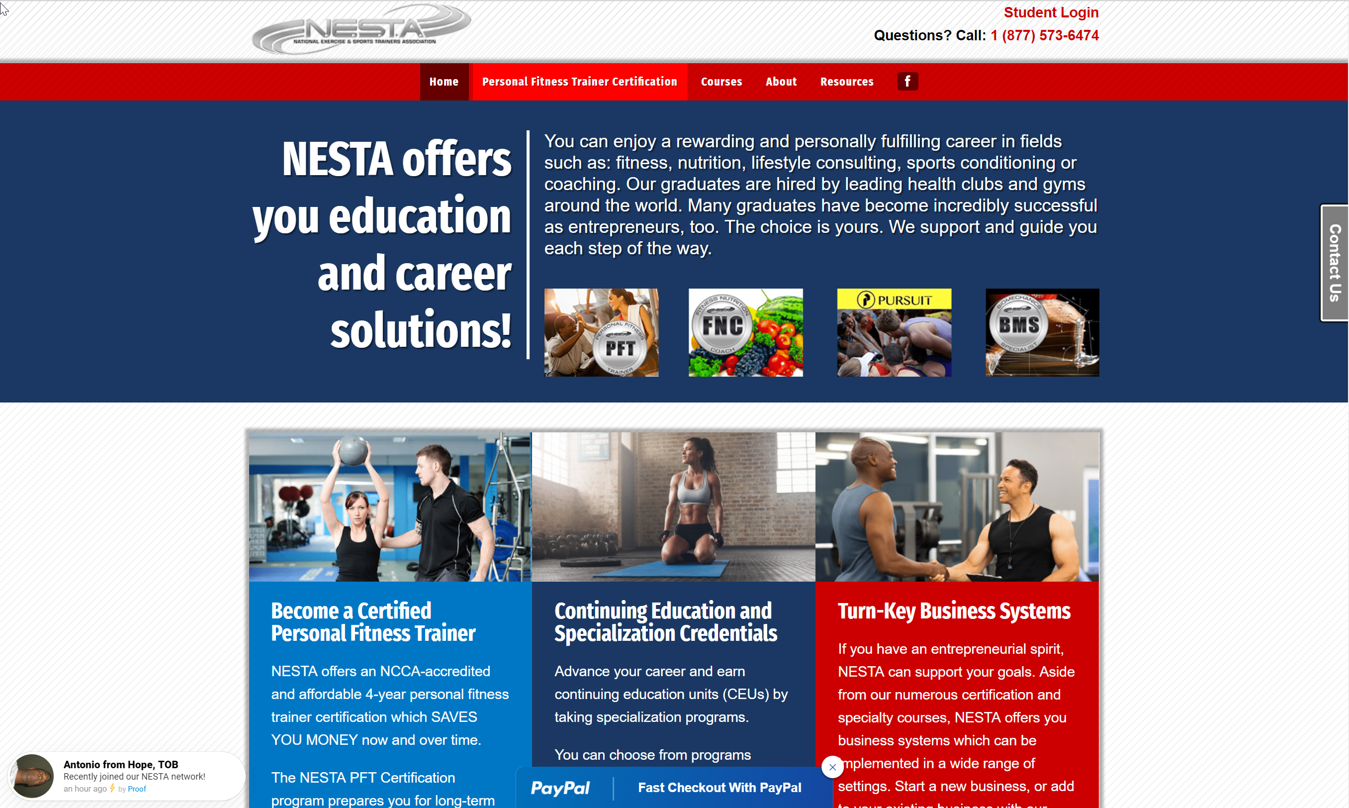 NESTA website