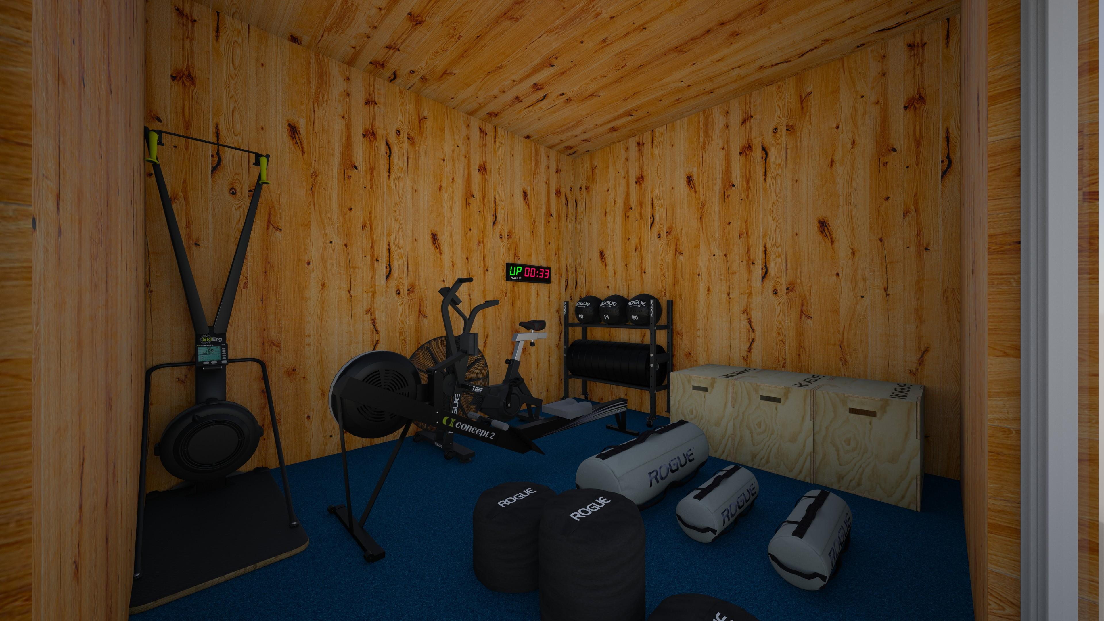 How to design a 3 6m x 4m Garden gym with Rogue