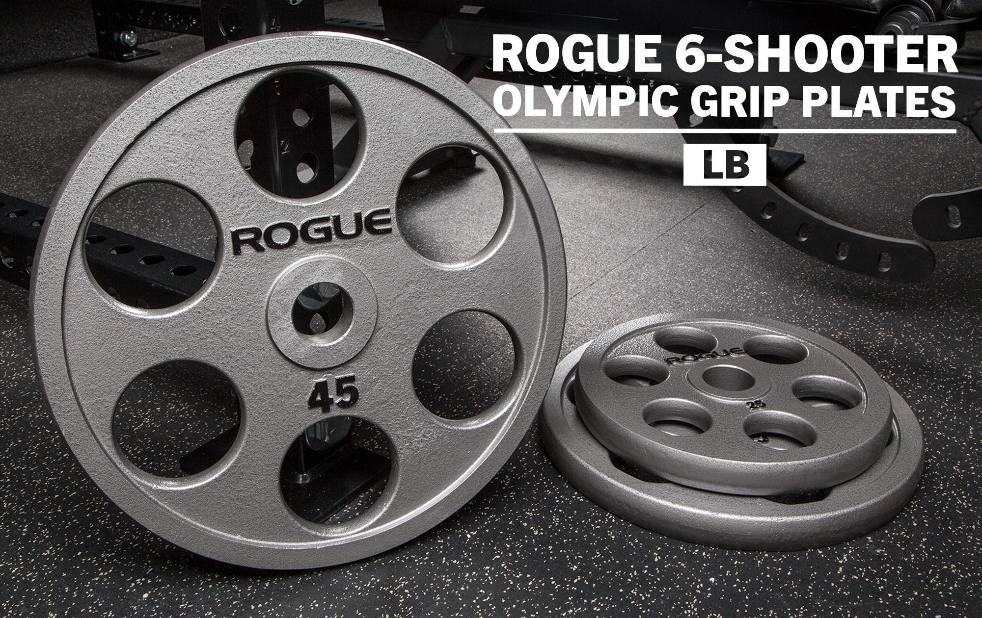Rogue 6 shooter plates