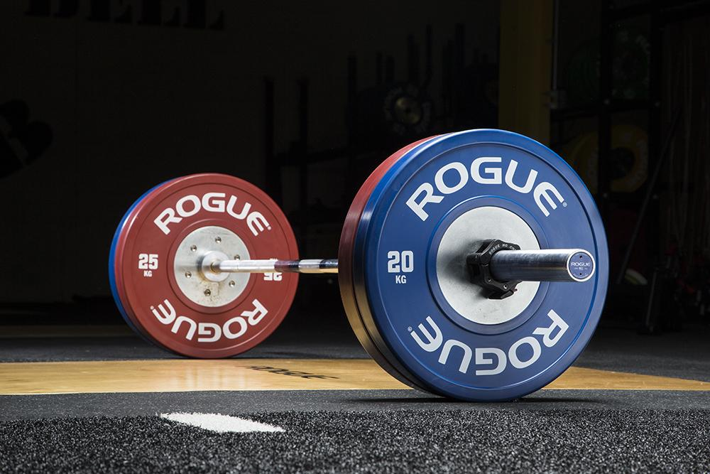 Rogue color kg training plates
