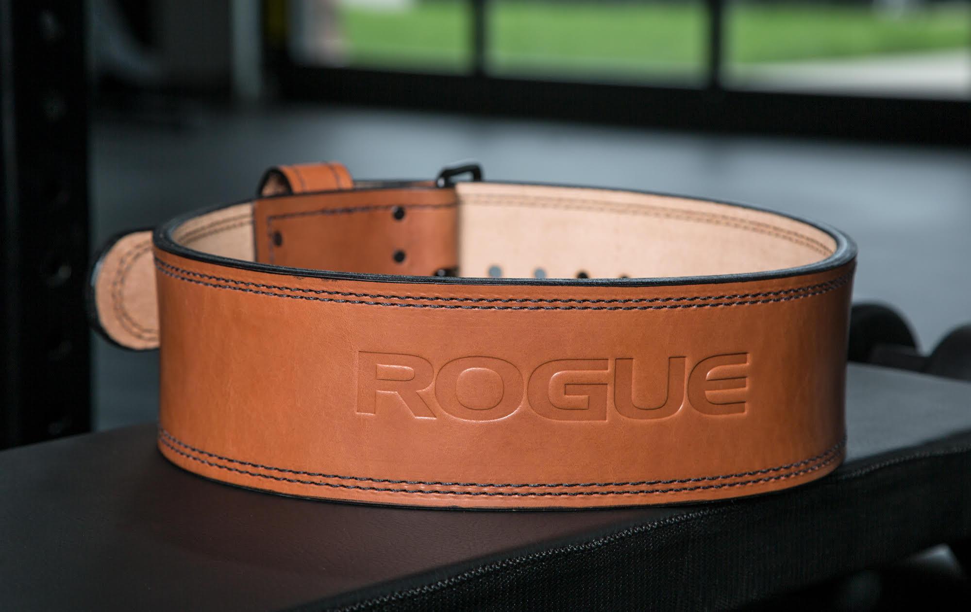 Rogue premium lifting belt