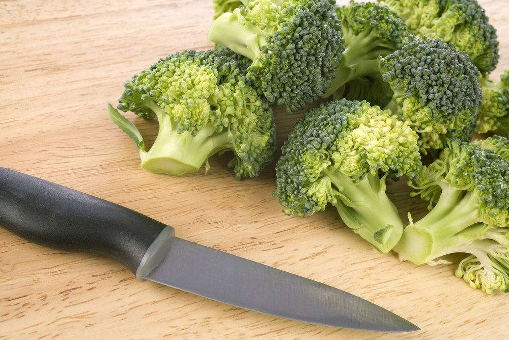Sliced Broccoli for fitness