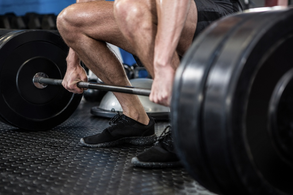 Deadlift or barbell row