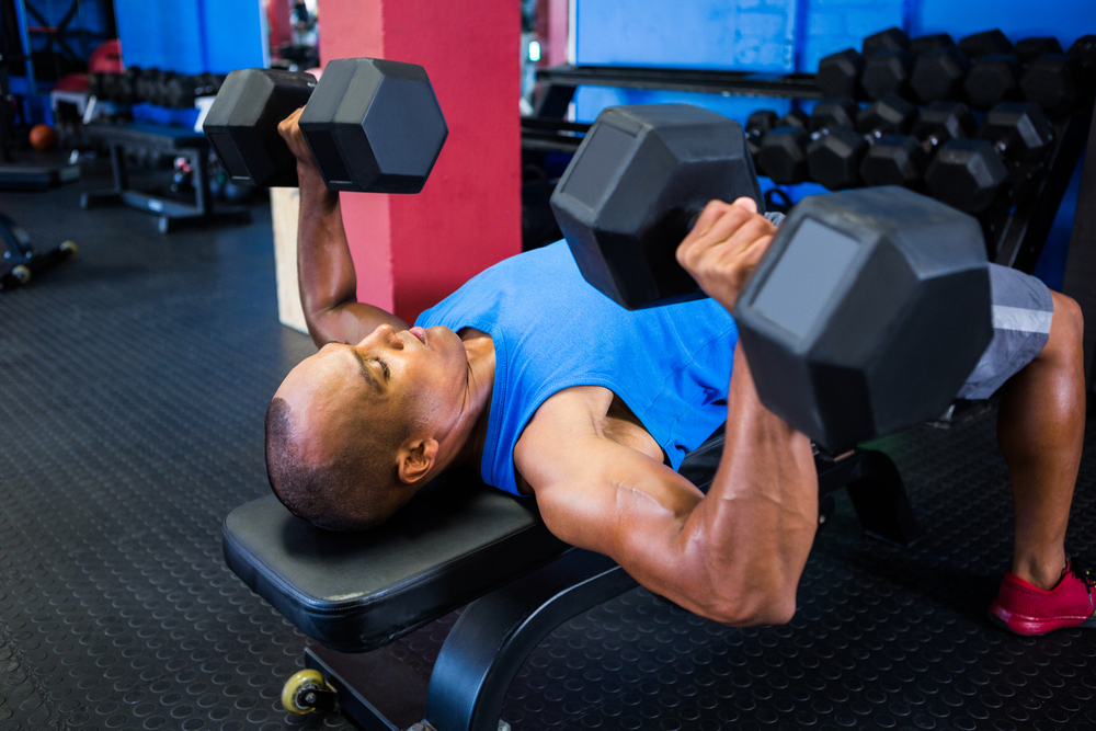 Can't barbell bench press