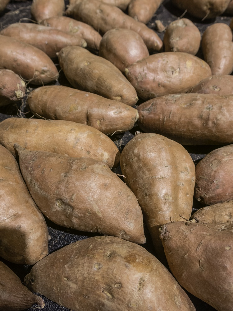 Sweet potatoes for fitness