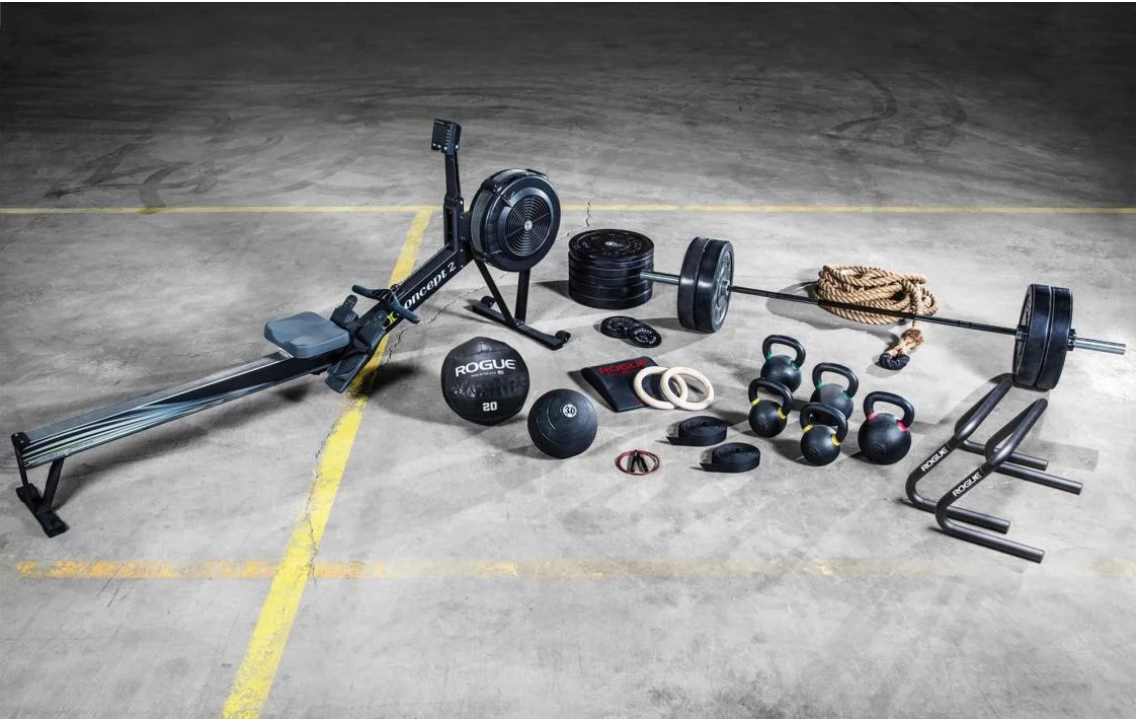 What equipment for Crossfit home gym
