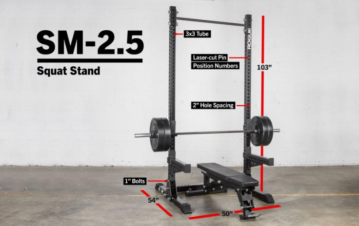 SM 2.5 Squat stand