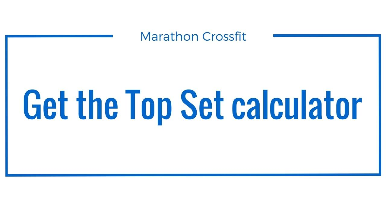 Subscribe to marathon Crossfit