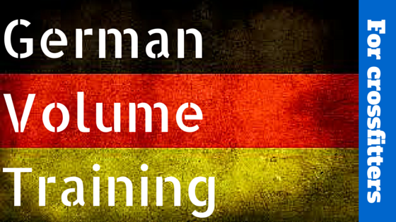 GermanVolume_Training